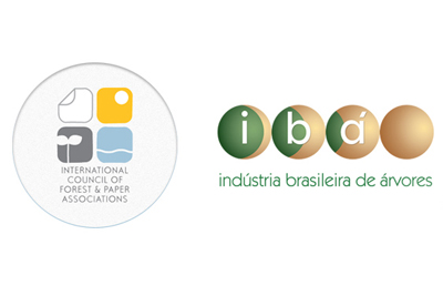 icfpa e ibá.jpg International Council for Forest and Paper Associations
